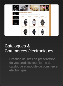 Sites Internet - Catalogues - Commerces Electroniques