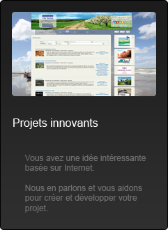 Sites Internet - Projets Innovants